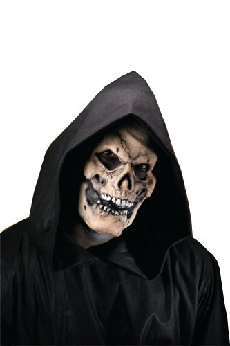 Rubie's Costume Reel F/X Bones Skull Face Kit, White, One Size - 1