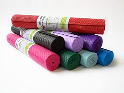 """Kid's Sticky Yoga Mat 1/8""""x60"""" Thick 8 Colors SGS Approved Non-Toxic No Phthalates or Latex by Bean ProductsTM"""