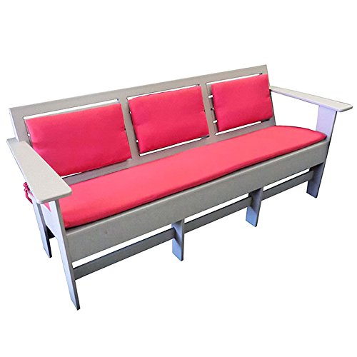 "Lounge Sofa with Sloped Seat 74""W"