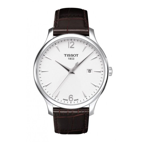 tissot-mens-t0636101603700-tradition-silver-tone-stainless-steel-watch