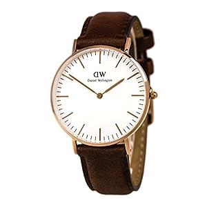 Daniel Wellington Damen-Armbanduhr Classic St.Mawes  Lady Analog Quarz Leder 0507DW.