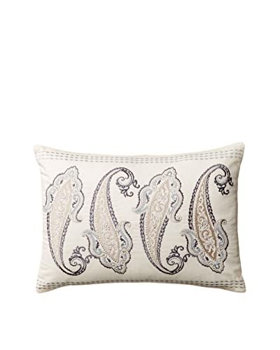 Laura Ashley Whitfield Paisley Pillow, Blue