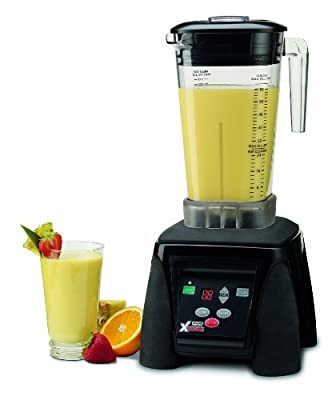 Waring Commercial MX1100XTX Hi-Power Electronic Keypad Blender with Timer and The Raptor Copolyester Container, 64-Ounce from Waring Commercial Inc. (Kitchen)