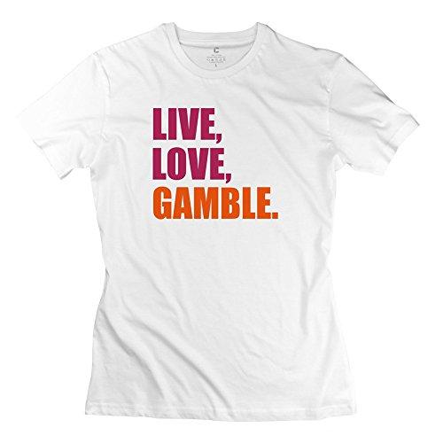Tgrj Women'S Tshirt - Particular Gambling Tshirt White Size Xxl