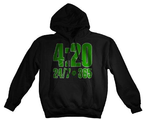 Kottonmouth Kings - 420 - Hoodie Mens Hoodie In Black, Size: Small, Color: Black