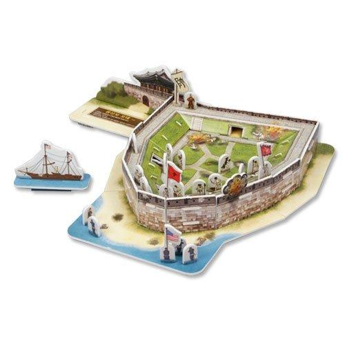 Jigsaw 3D Puzzle Korea Culture Series - Gwangseongbo Fortress - 1