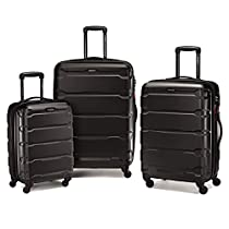 Samsonite Omni PC 3 Piece Set Spinner 20 24 28, Black, One Size