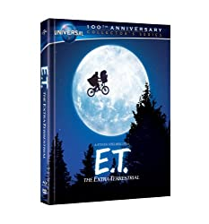 E.T. The Extra-Terrestrial: 30th Anniversary Collector's Series Blu-ray Book (Universal's 100th Anniversary Edition) [Blu-ray Book + DVD + Digital Copy]