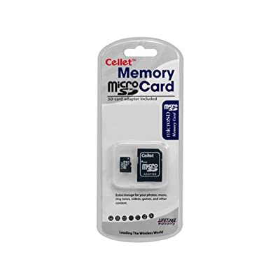 Cellet MicroSD 4GB Memory Card for Benq C36 Phone with SD Adapter. (Lifetime Warranty)