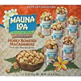 Mauna Loa Macadamia Nuts, Honey Roasted (6-Can GIFT Collection)