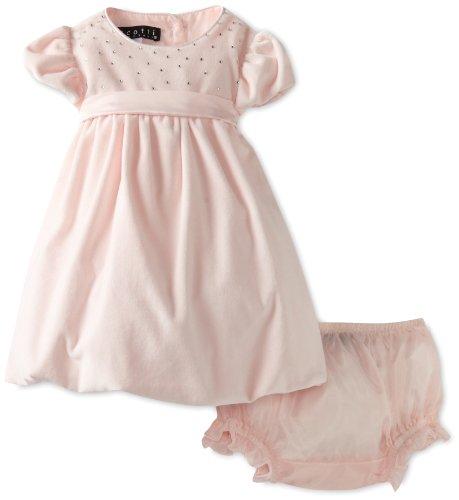 Biscotti Baby-girls Newborn Twinkle Sash Dress, Pink, 09 Months  Best Offer