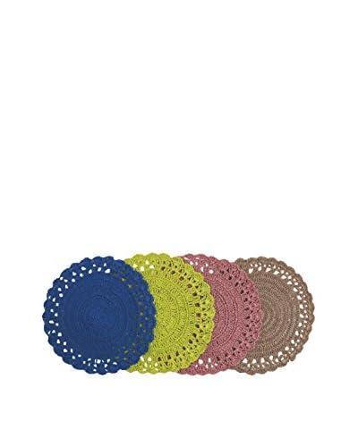 VILLA D'ESTE HOME Set Mantel Individual 4 Uds. Baita Multicolor