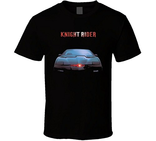 Laugh Dusk Knight Rider Cult TV Show Kitt T Shirt