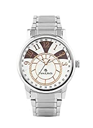 Franck Bella Exclusive Series A Superbely Designed watch with silver case Analog Mens Watch-FB0199B