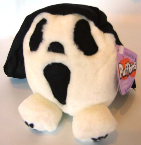 Puffkins Bean bag, NWT - Screech the Ghost - 1