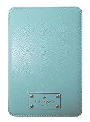 Kate Spade iPad Mini Wellesley Folio Hard Case Giverny Blue Leather