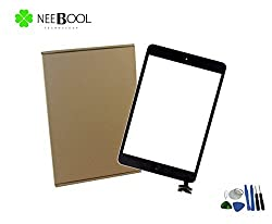 NEEBOOL® Black iPad Mini 1 & 2 Touch Screen Glass Digitizer with IC Chip Replacement