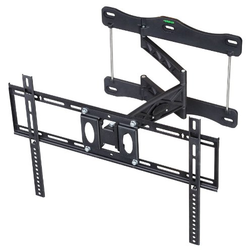Arrowmounts Am-P60B Full Motion Articulating Wall Mount For 32-60 Inch Led/Lcd Televisions, Black