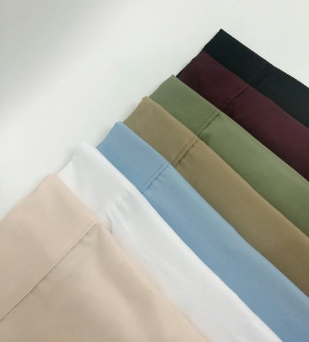 Multiple Sizes & Colors - 1500 Collection - Wrinkle Resistant Super Soft 100% Brushed Microfiber - 95 Gsm - Cuffed Hem- Sheet Set -Split King-Sage* - Exclusively By Blowout Bedding