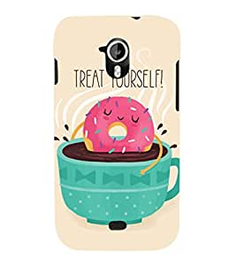 EPICCASE Treat yourself Mobile Back Case Cover For Micromax A116 Canvas HD (Designer Case)