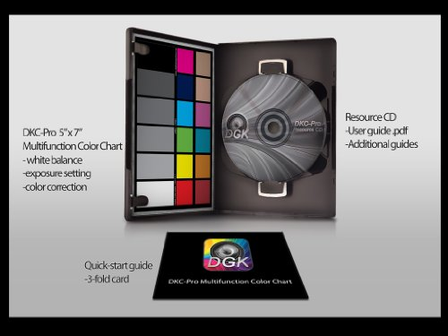 DGK Color Tools DKC-PRO Multifunction Color Chart (Photography Color Chart compare prices)