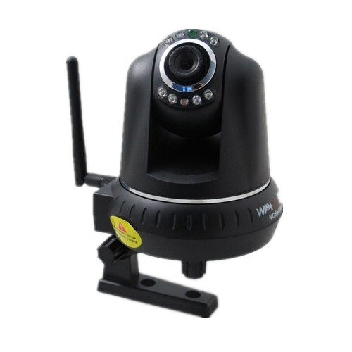 Wansview Wifi Wireless Wired ip camera, Pan Tilt 340 ?100?Ir Built in Microphone Two Way Audio Free Ddns Iphone Smart Phone View at Sears.com