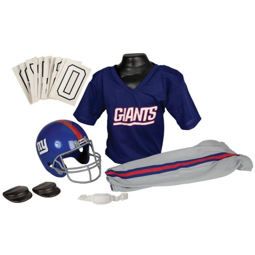 Franklin Sports NFL Team Licensed Youth Uniform Set - New York Giants