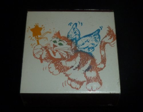 Angel Cat Rubber Stamp - 1