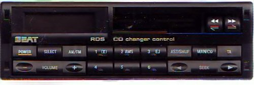 Autoradio Seat RDS CD Charger Control