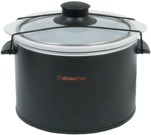 RoadPro RPSL-350 12V 1.5 Quart Slow Cooker (Camping Rice Cooker compare prices)