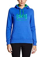 super natural Camiseta Manga Larga Sweat Master Hoodie Logo 280 (Azul)