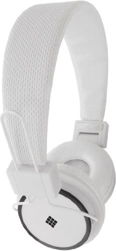 Polaroid Php8400Wh Powerful Bass Headphones For Iphone, Galaxy, Ipad And Android White