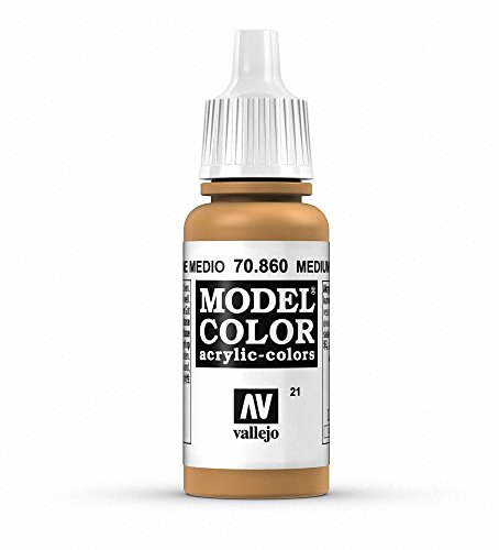 Vallejo Medium Fleshtone Paint, 17ml