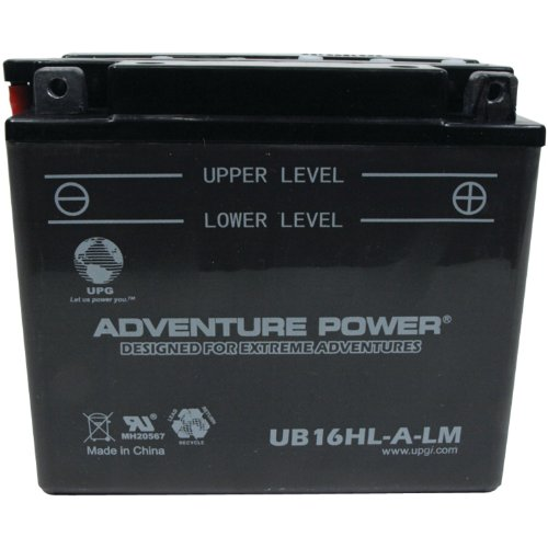 UPG 42545 Ub16hl-a-lm Conventional Power Sports Battery