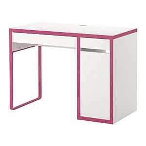 Micke,corner Desk, White, Pink