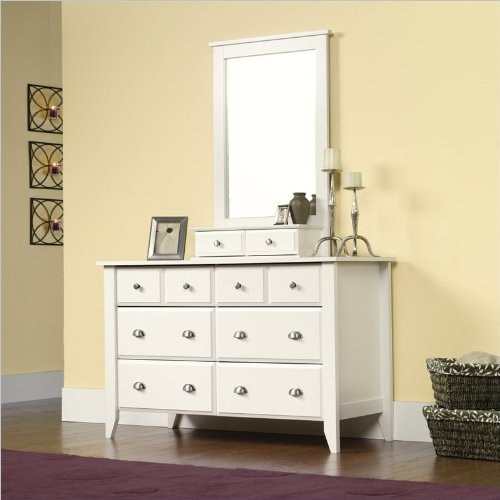 White Bedroom Furniture Set 8711 front