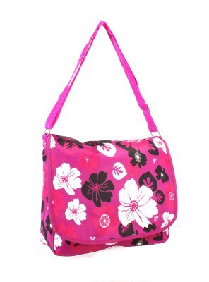 Ladies Floral Office College Briefcase Satchel Messenger Handbag Bag