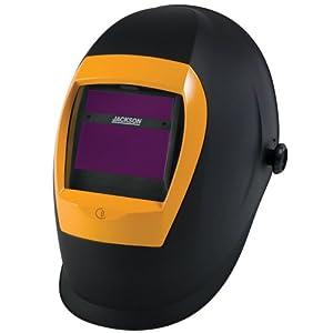 Jackson Safety W70 BH3 Grand DS Auto Darkening Welding Helmet with Balder Technology, Black by Kimberly Clark Professional