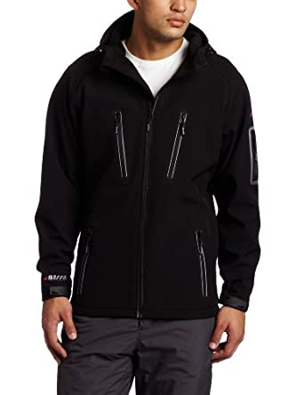 Buy Baffin Mens Soft Shell Hooded Jacket by Baffin