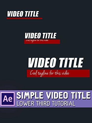 Simple Video Title on Amazon Prime Video UK