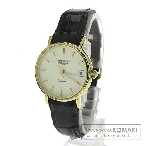 LONGINES(ロンジン) L7.490.6 グランドクラシック 腕時計 K18イエローゴールド/革 レディース (中古)