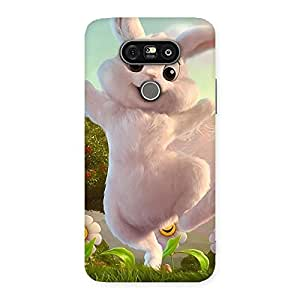 Enticing Bunny Funny Back Case Cover for LG G5
