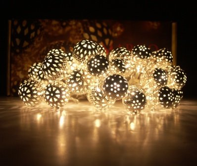 Light chain - Maroq decorative fairy lights - mains operated