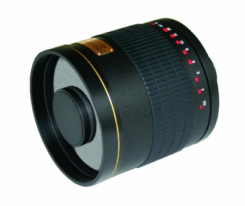 Rokinon discount duty free Rokinon ED500M-B-AI 500mm F6.3 Mirror Lens for Nikon (Black)