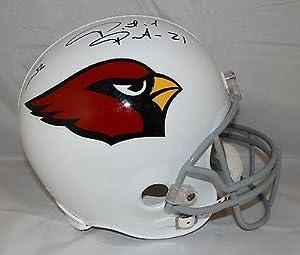 Tyrann Mathieu & Patrick Peterson Autographed F S Arizona Cardinals Helmet - JSA... by Sports Memorabilia