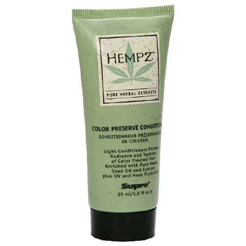 Buy Hempz Pure Herbal Extracts Color Preserve Conditioner, 1.5 fl oz (25 ml) (Pack of 4) (Hempz Hair Conditioners, Conditioners, Natural)