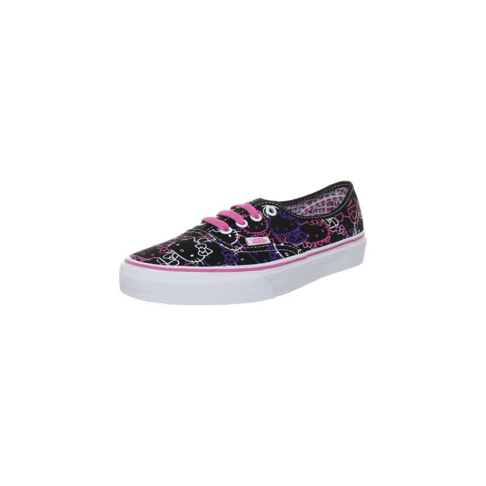 Vans Authentic Hello Kitty VN 0QER66Y Black  PssnFlwr Shoes Size Mens 9   Womens 10.5 d45007529