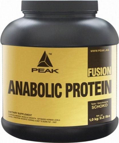 Peak Anabolic Protein Fusion 2260g + Shaker u. Dosierlöffel (Schokolade)
