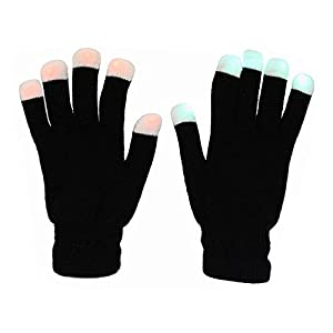 #1 Premium quality LED Lighting Gloves, Flashing fingers, Rave gloves, colorful gloves, light show by TRITECHNOX from Tritechnox