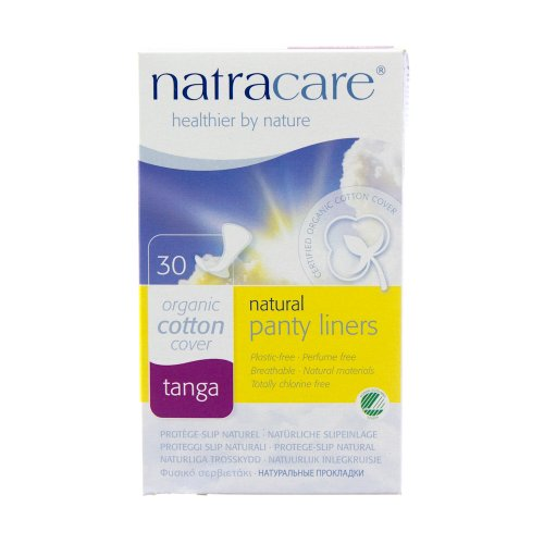 Tanga Panty Liners, Natural, 30 count